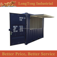 Brand new 10ft booth container with flying door