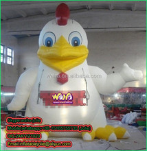 2015 Hot sale giant inflatable rooster for advertising 3M or Customized