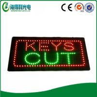 Super bright Custom sign keys shop board Keys Cut led sign