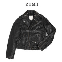 Vintage effect leather jackets motorcycle,kids black leather jackets, biker leather jackets for boys