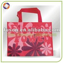 recycled flower design bag