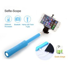 new products for 2015 EP-S4 camera bluetooth selfie stick with power bank, folding power bank selfie stick