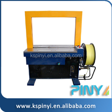 Plastic,paper,wood packaging material and other type operated automatic packing machine, automatic strapping machine