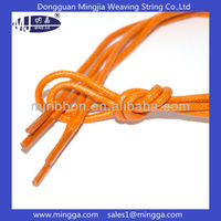 new design colorful waxed cotton shoelaces
