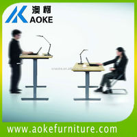 Top-Lift cranked Height Adjustable School Desk and Chair