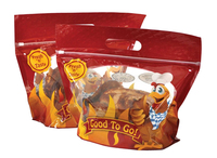 hot stand up roast chicken bag with zipper