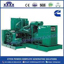 Dual Frequency Diesel Generator Powered by Cummins Diesel Engine at 50Hz and 60Hz