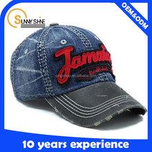 hot selling product applique cowboy custom logo baseball cap