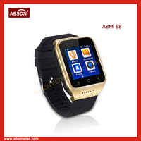 2015 High Quality Android 4.4 Wifi Smart Watch Phone with gps Bluetooth u8 smart watch