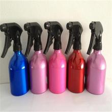 Whole sell perfume aluminum bottle with spray/spray aluminium bottles/aluminum sray bottles