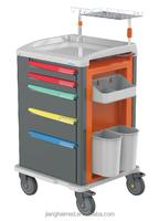 ABS plastic emergency hospital trolley JH-GET01