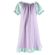 2015 New Style Baby Girls Summer Frock Design Cute Wholesale Cotton Pajamas