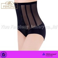 Ms tall waist embroidered triangle shape body underwear