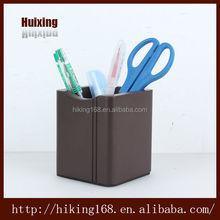 Wooden pen stand pen holder pen container - decorative office storage boxes # HX-1009