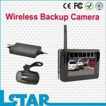 2.4GHz digital wireless camera backup system with 12V/24V power supply