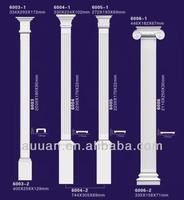 Auuan plastic column pillars