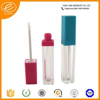 Beautiful empty lip gloss containers led lip gloss tube