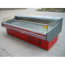 open display cooler for meat