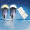 2015 best selling led bulb e27 indoor lighting LED RGB wifi controll bulb lights 9W wireless control color chasing RGB led bulb