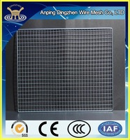 Baebecue grill mesh/chrome plated barbecue grill wire mesh/high quality barbecue grill wire mesh