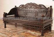 Wooden Ethnic Sofa