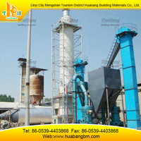 Gypsum powder production line (main product in 2015)
