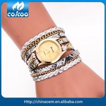 2015 New Fashion Geneva Brand Leopard Leather Strap Quartz Wrist Watches, Watches Manufacturer&Supplier&Exporter