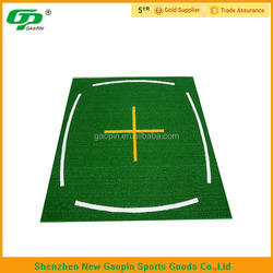 2015 fashion driving range golf mat/ golf training aid manufacturer