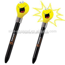 Cheap bulb light fashion pen for kids
