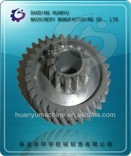 precision casting & machining carbon steel fluted disc