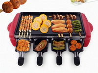 Korean Multi functional Table Use electric BBQ GRILL with pot