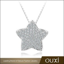 OUXI hot sale cheap price not expensive fashion famous brand jewelry