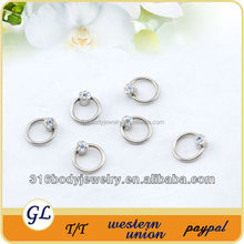 BCR009 fashion stainless steel BCR beautiful penis ring