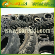 3Ton automatic tire recycling machine