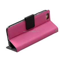 PU leather wallet flip phone case-Kooso Korean Koo Book Artificial leather case for Samsung Galaxy Win Duos GT - I8552