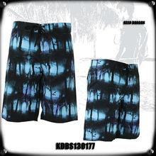 dark forest print new design man street beach short walk short