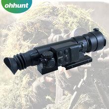 Visión nocturna por infrarrojos prismáticos militares gafas de visión nocturna