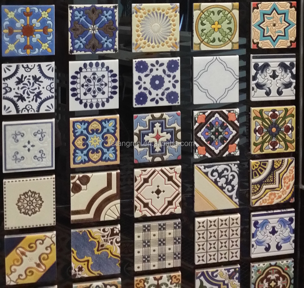 10x10 ceramic handmade mexican tile buy mexican tile for 10x10 floor tile