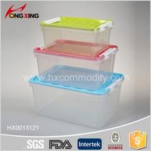 9L/15L/25L Transparent rectangle plastic storage container
