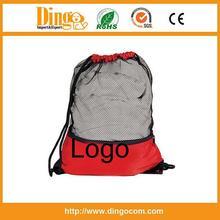 promotional plastic drawstring backpack bag with logo / Drawstring bag /Customized drawstring bag