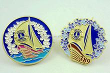 High-Quality Round Anniversary Metal Lapel Pins Badges Emblems Wholesale