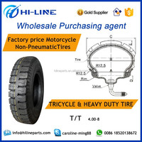 4.00-8 TT/TL motorcycle tyres wholesale motorcycle tires chinese exporters trading company