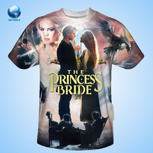 2015 movies character printed t -shirt sublimation& wholesale all over sublimation printing t-shirt &latest 3d t-shirt design