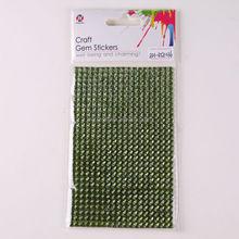 bling crystal acrylic rhinestone sticker sheets