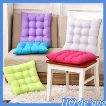 Hogift 2016 hot selling pure color cotton polyester cushion chair cushion home office cushion MHo-166