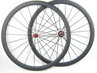 25mm Width 38mm Clincher Carbon road bicycle wheels wholesale price