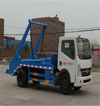 Nueva basculante camión de basura hermético Forland hidráulico camión de basura