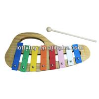 8 Keys Rainbow wooden xylophone for kids