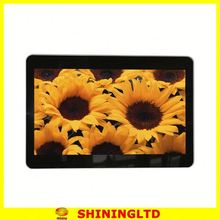 """Wholesale 15"""" battery operated digital photo frame support picture/ music/ video play"""
