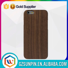 2015 wholesale real wooden cell phone hard blank wood case for iphone 6